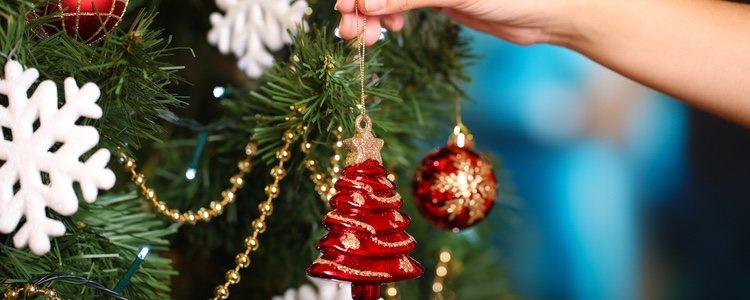 Estos dos clásicos colores son una apuesta segura para la decoración navideña