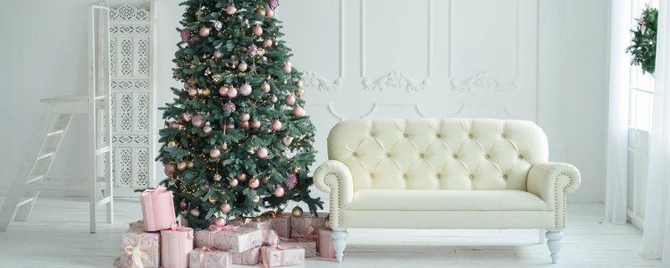 La decoración de un sólo color transmite sencillez y elegancia