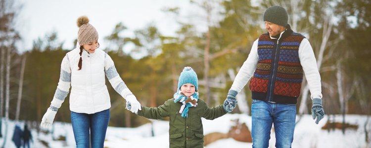Patinar sobre hielo es el plan perfecto para pasar un día en familia