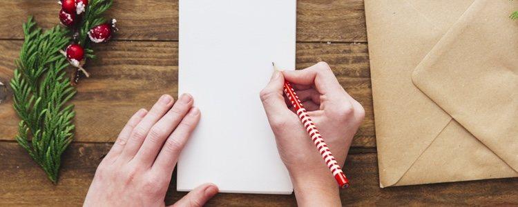 Hacer una lista de regalos es una buena idea para ahorrar tiempo