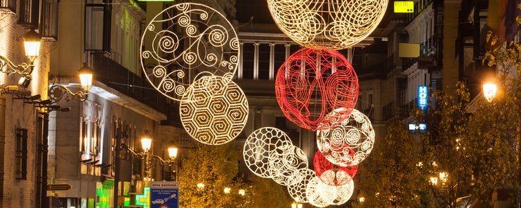 Las luces de Navidad en Madrid son completamente LED