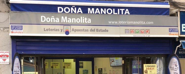 La lotería de Doña Manolita es la más famosa de nuestro país