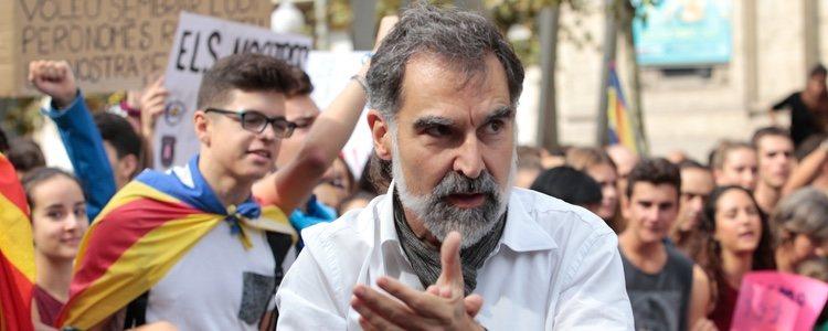 Jordi Cuixart ha sido otra de las figuras caganer de este año