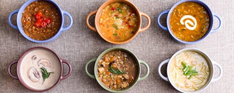 Los diversos tipos de sopas y potajes son tradición en muchas comunidades