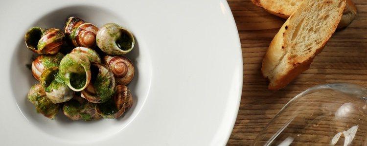 Los caracoles son un plato típico en Cantabria