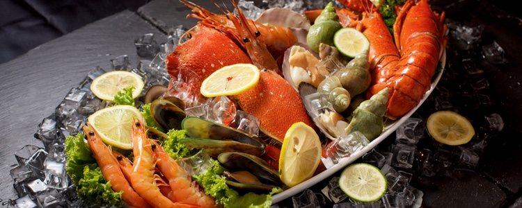 El marisco es un alimento típico en toda España