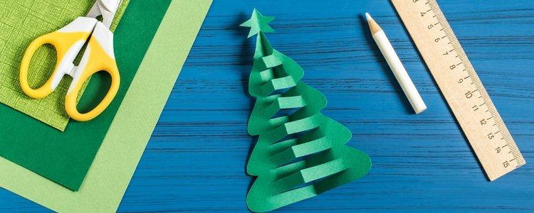 Hacer un árbol de Navidad de fieltro es la mejor opción a prueba de niños