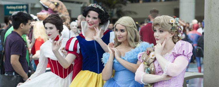 También podrás fotografiarte con las esculturas de hielo de las princesas más conocidas