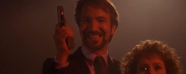 Hans Gruber interpretado por Alan Rickman en 'La jungla de cristal' | Foto: Youtube