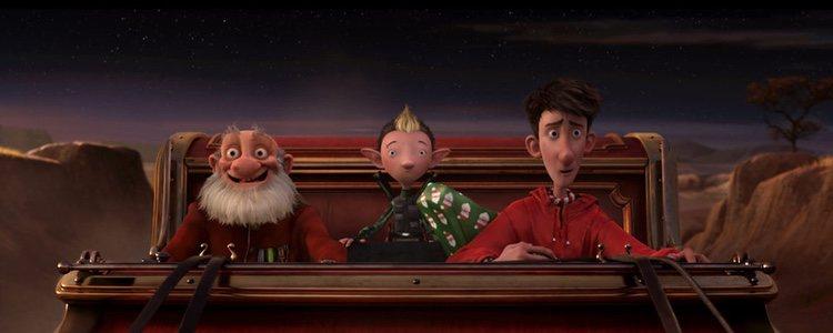 Fotograma de la película 'Arthur Christmas: operación regalo
