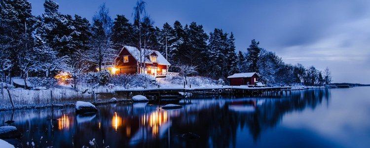 La Navidad en la montaña es de lo más acogedora y llena de espíritu