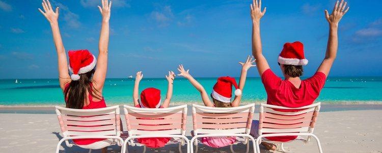 Además en los lugares de costa internacional tienen sus propias costumbres navideñas