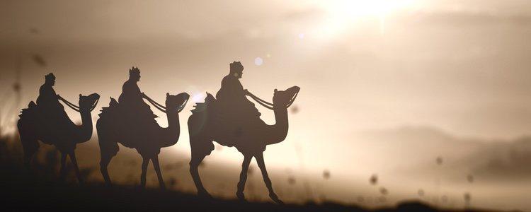 Según la Biblia, los Reyes Magos fueron guiados por una estrella hasta Belén