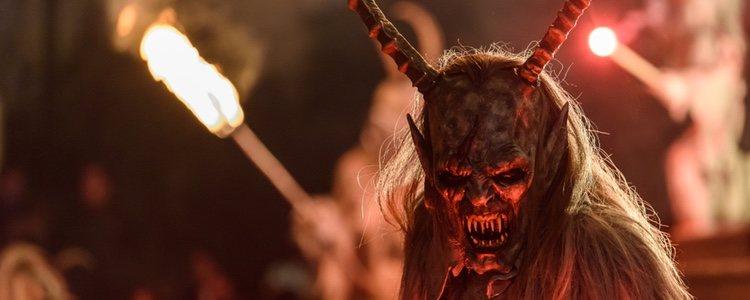 El temible Krampus reprende a los niños malos austriacos