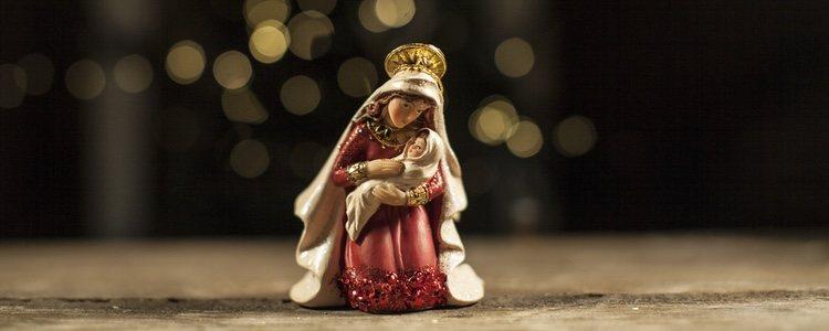 La figura de la Virgen María representa la bondad
