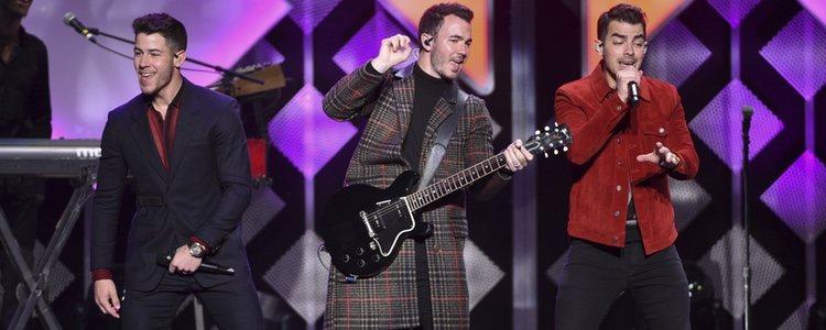 Los Jonas Brothers en el concierto Jingle Bell 2019 | Foto: Gtres
