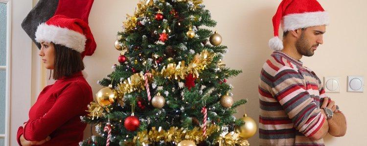 Las Navidades, al igual que las vacaciones de verano, son épocas de muchas rupturas