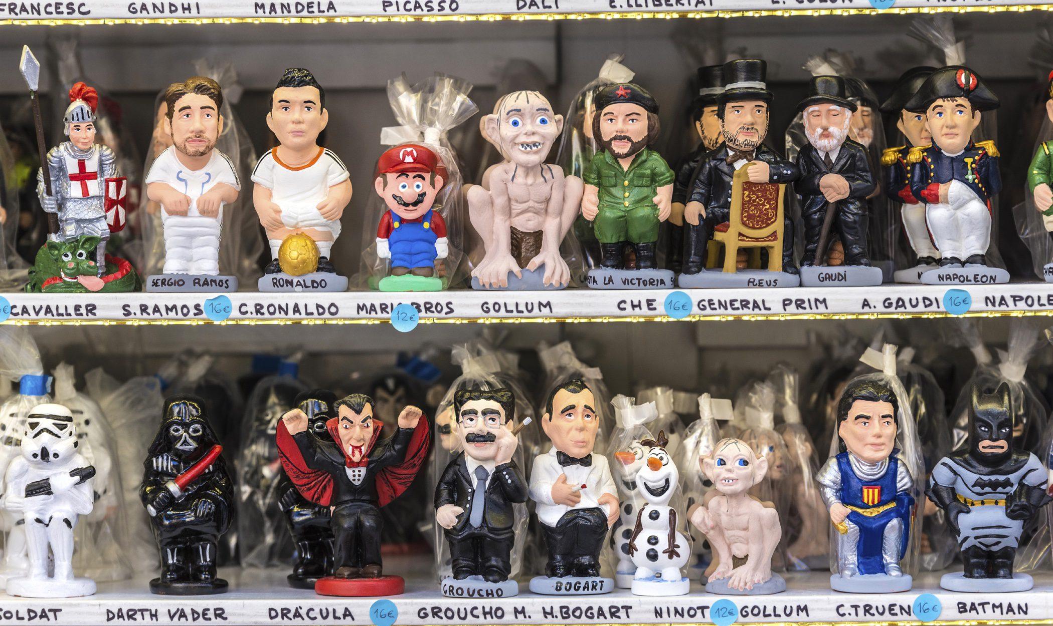 El caganer y el Tió de Nadal: tradiciones navideñas catalanas