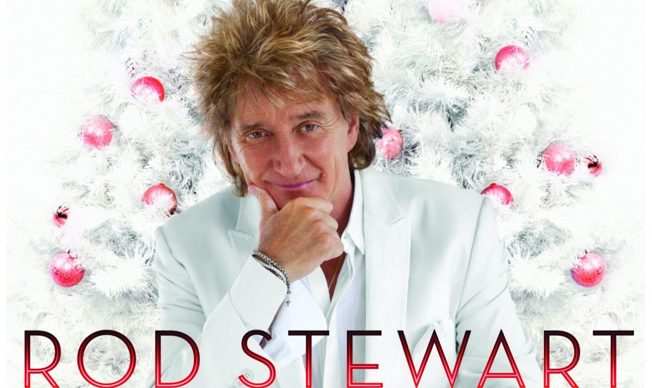 Rod Stewart felicita la Navidad a sus seguidores con el disco 'Merry Christmas, Baby'