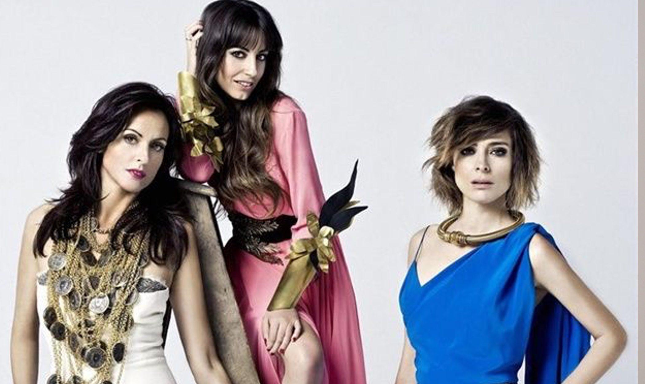 Almudena Cid, Sandra Barneda y Helena Barquilla felicitan la Navidad 2012 con Maybelline NY