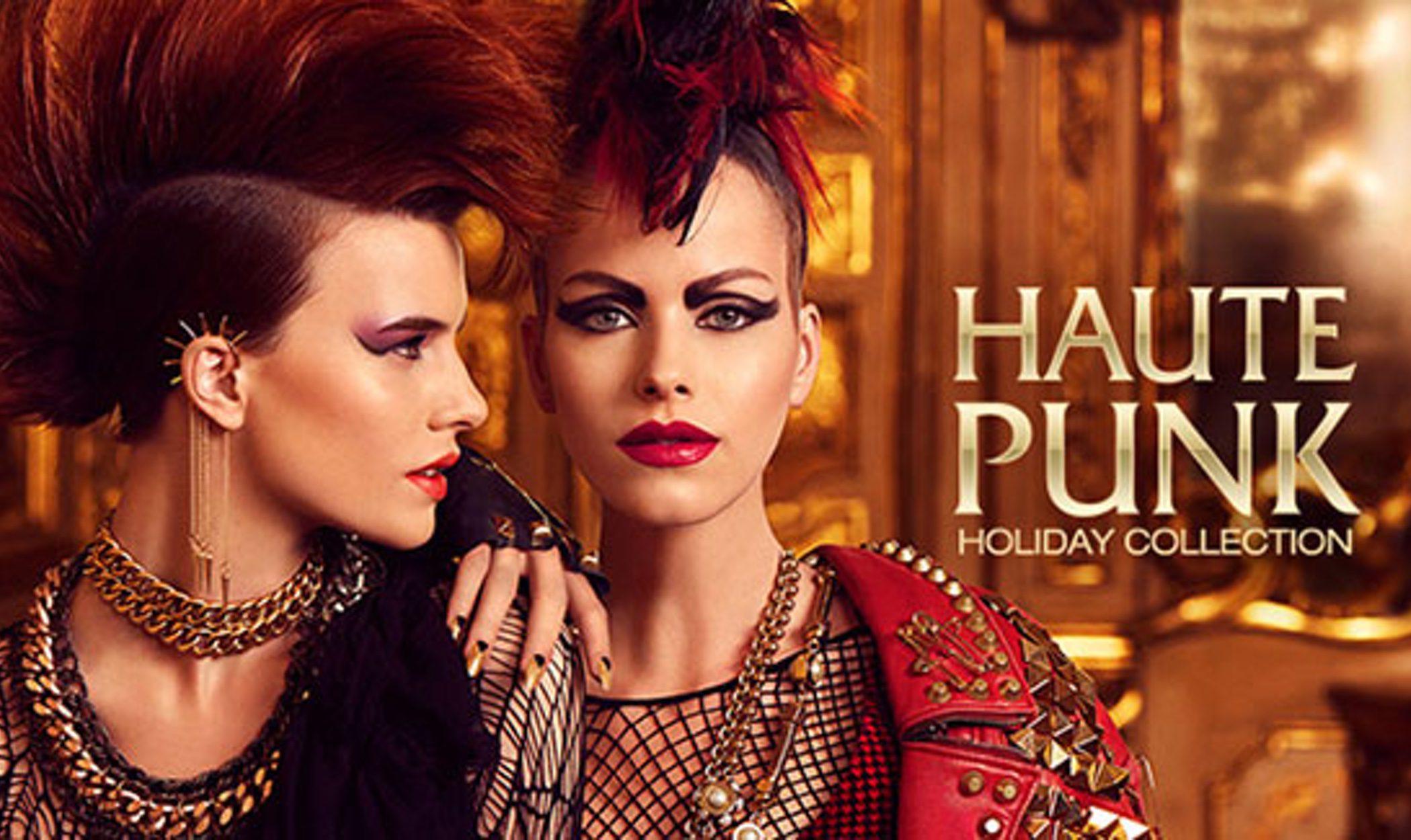 Kiko se decanta por el aire 'punk' estas navidades con su colección 'Haute punk'