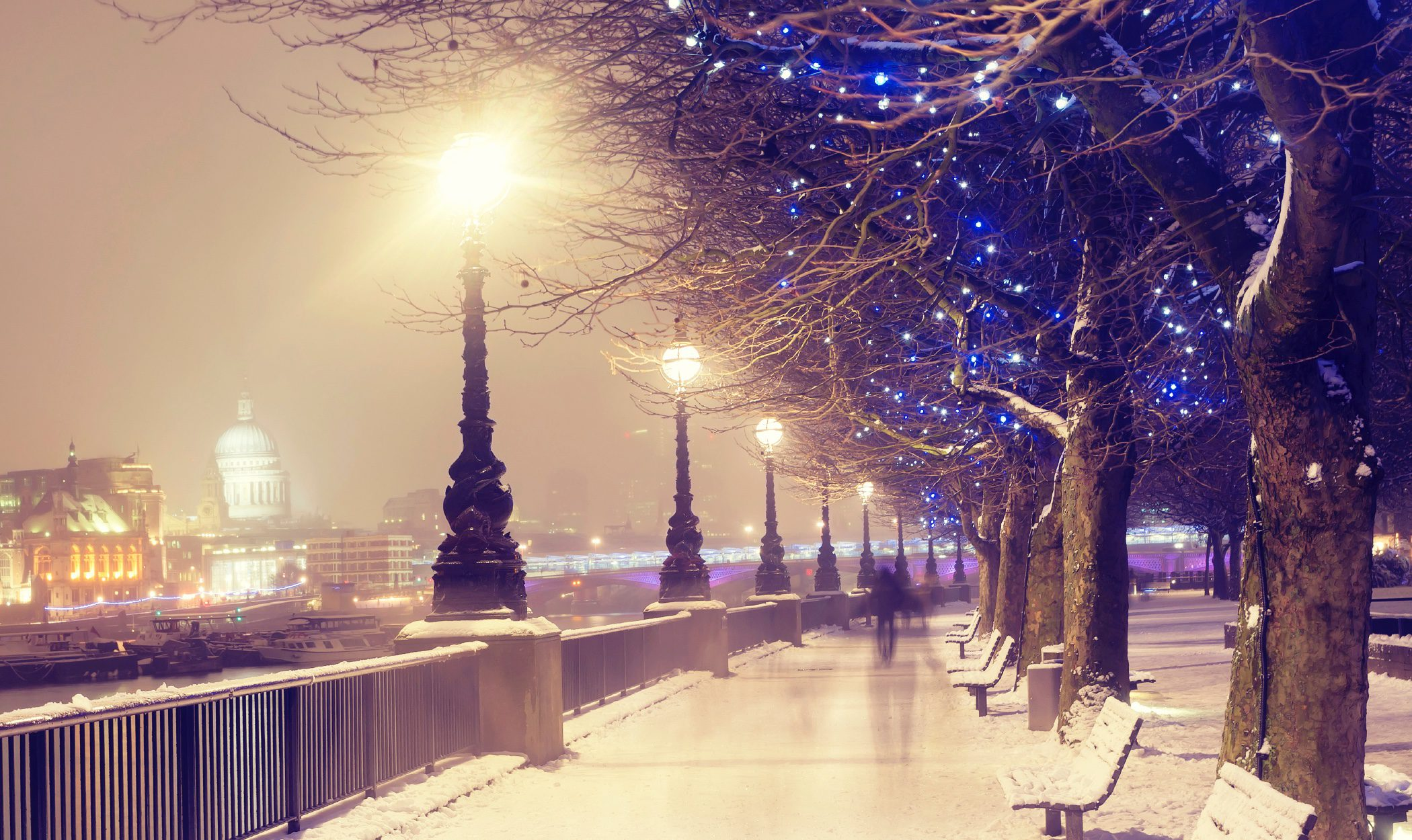 Navidad en Londres: ambiente y espíritu navideño por todo lo alto