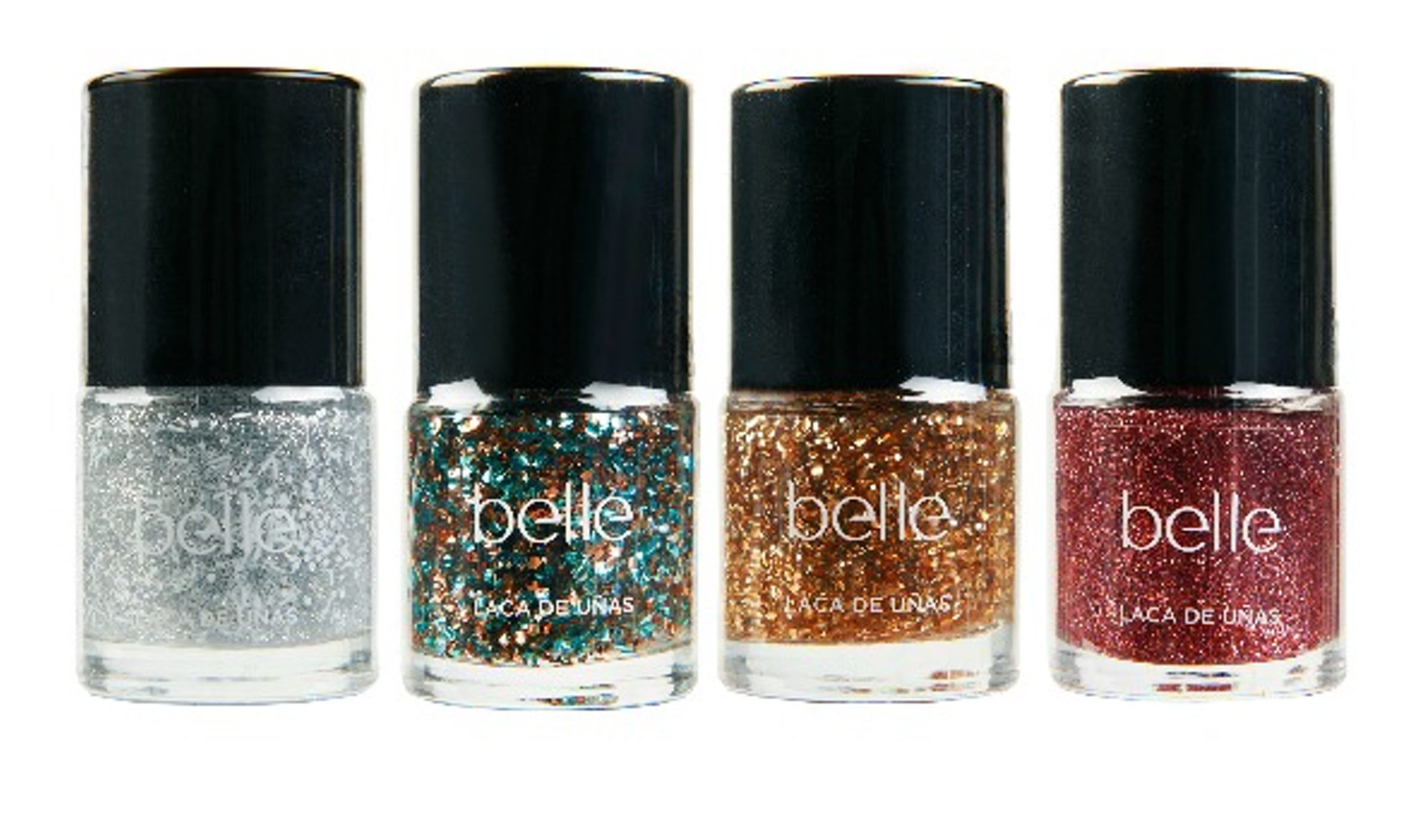 Belle & Make Up decora las uñas estas Navidades con 'All That Glitters'