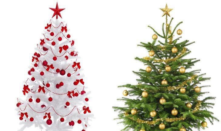 rboles de navidad blancos una alternativa al verde - Arbol De Navidad