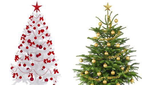 Árboles de Navidad blancos: una alternativa al verde - Bekia Navidad