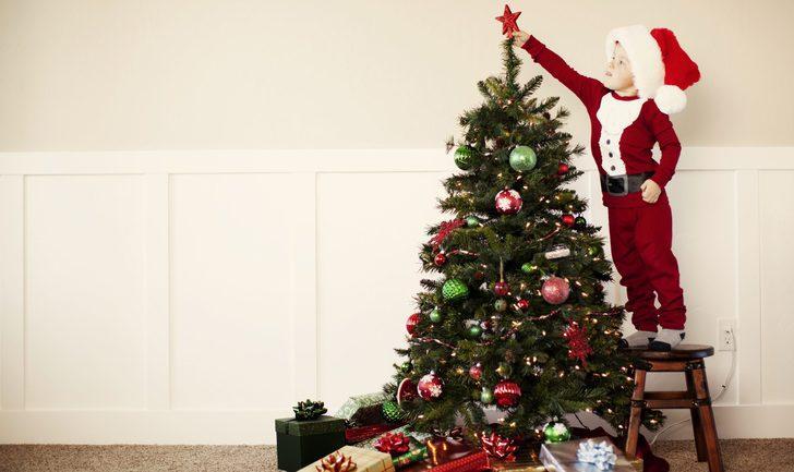 decoracin navidea con qu coronar el rbol de navidad - Decoracion Navidea