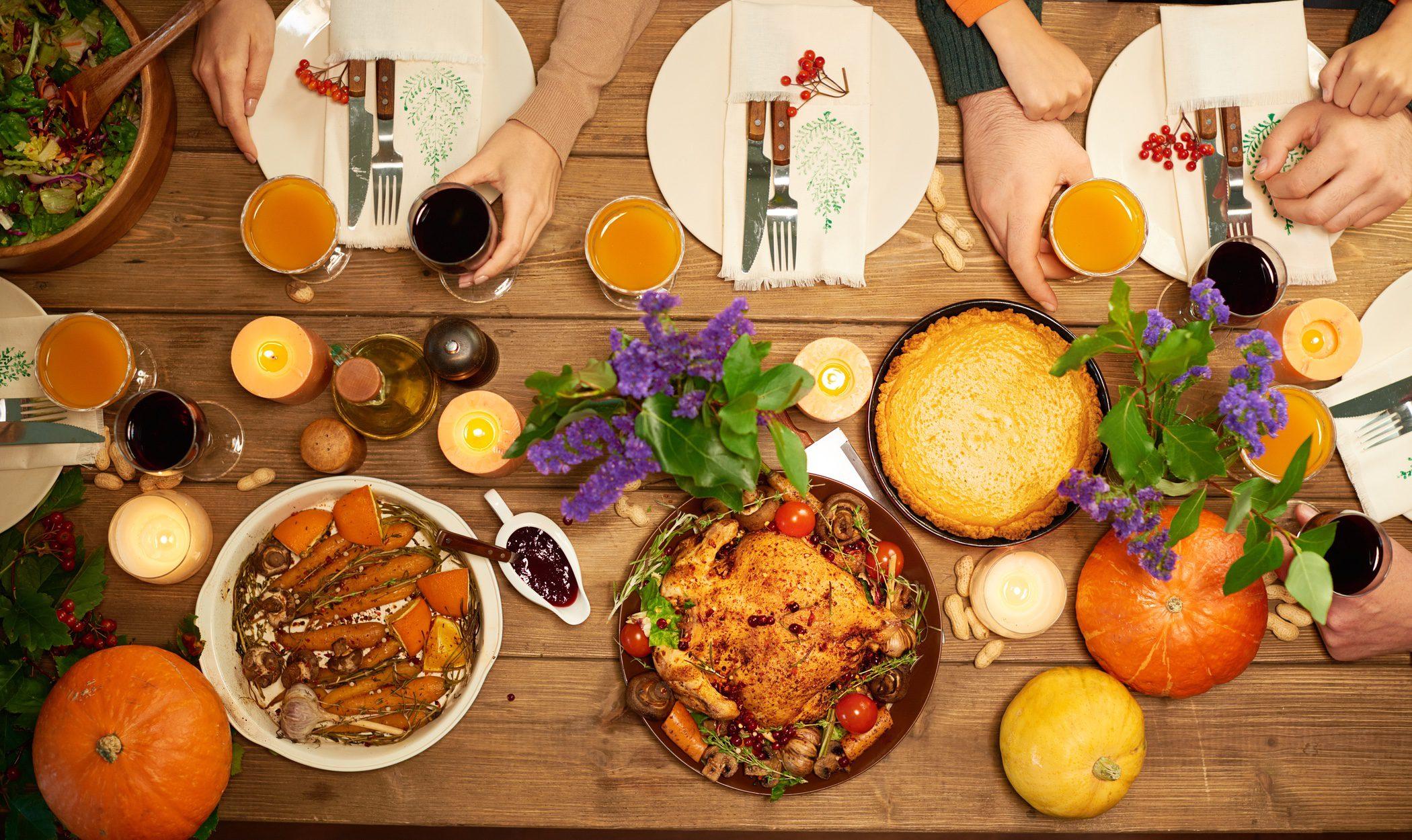 Recetas para tu menú del día de Acción de Gracias