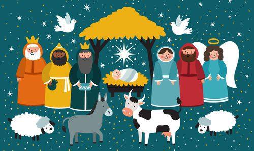 Imagenes De Belenes Para Imprimir.Belenes De Navidad Modernos Innova En Tu Decoracion Bekia