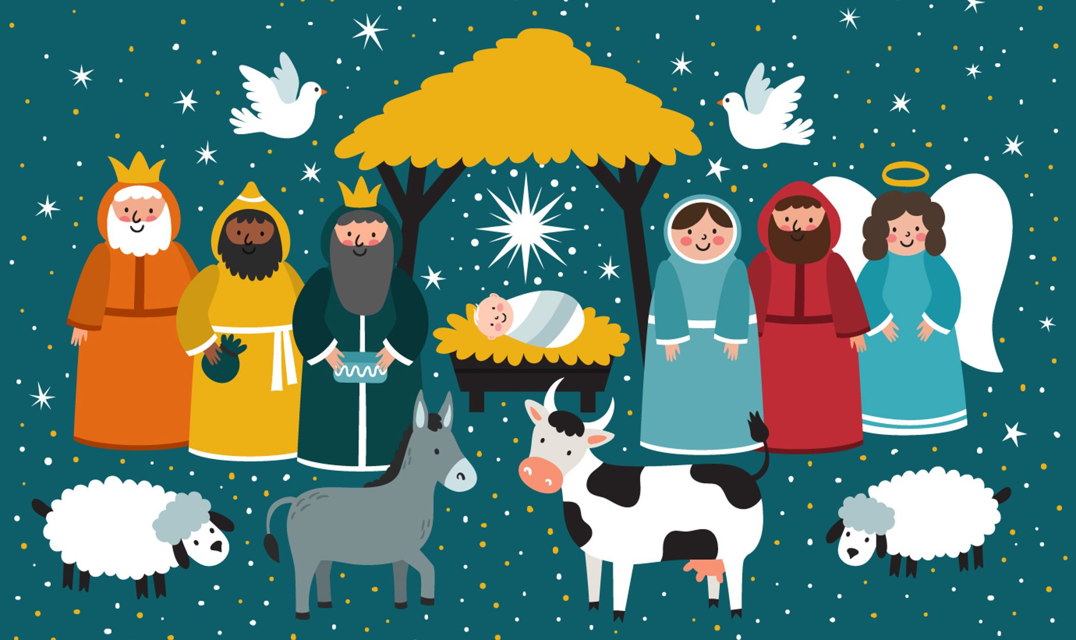 Belenes de Navidad modernos: innova en tu decoración