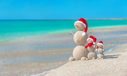 Navidad en la playa: una alternativa diferente