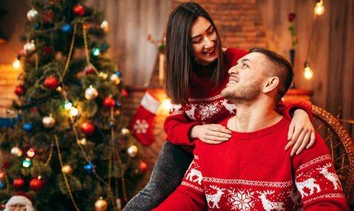 Cómo afrontar la primera Navidad en pareja