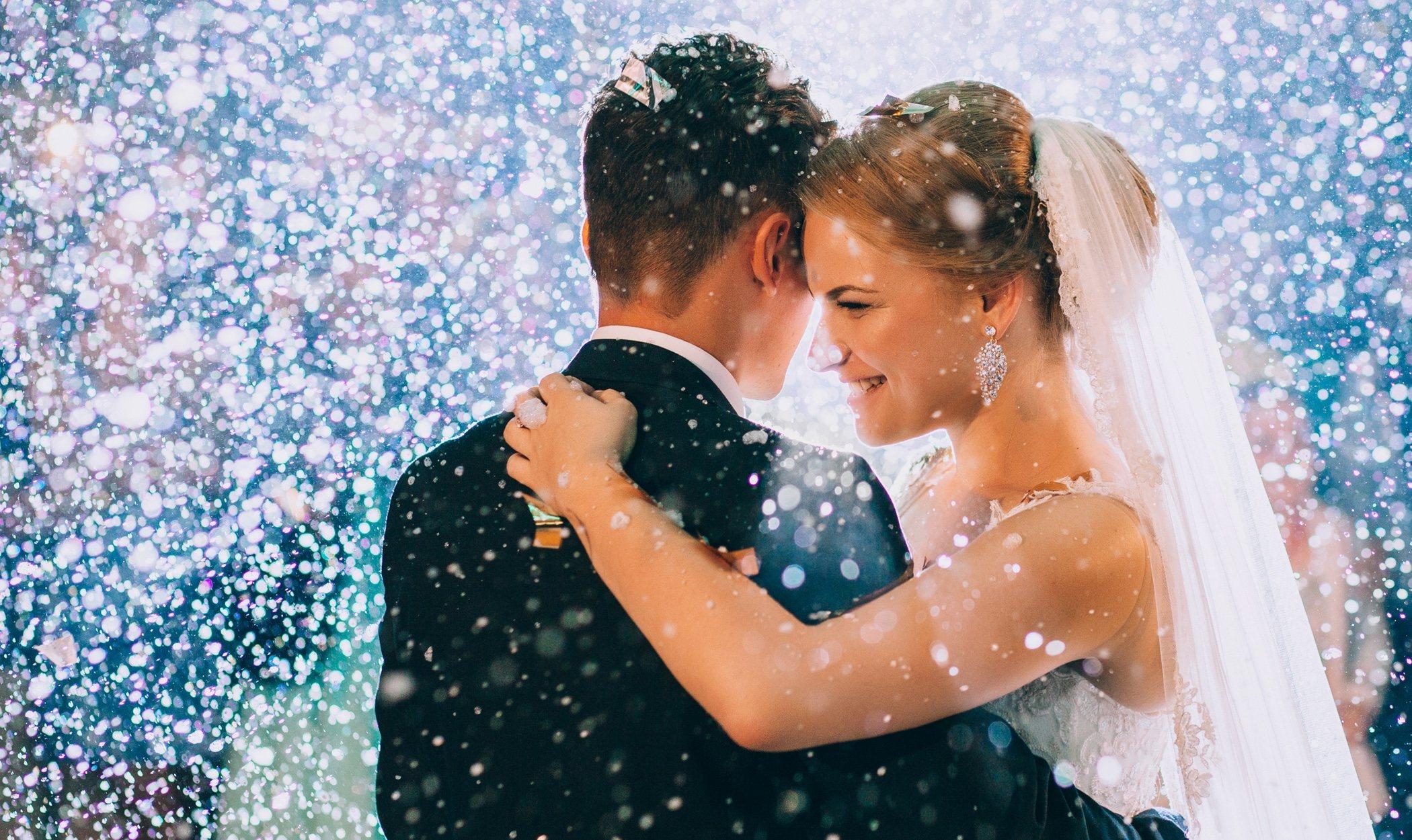 Cómo celebrar una boda en Navidad