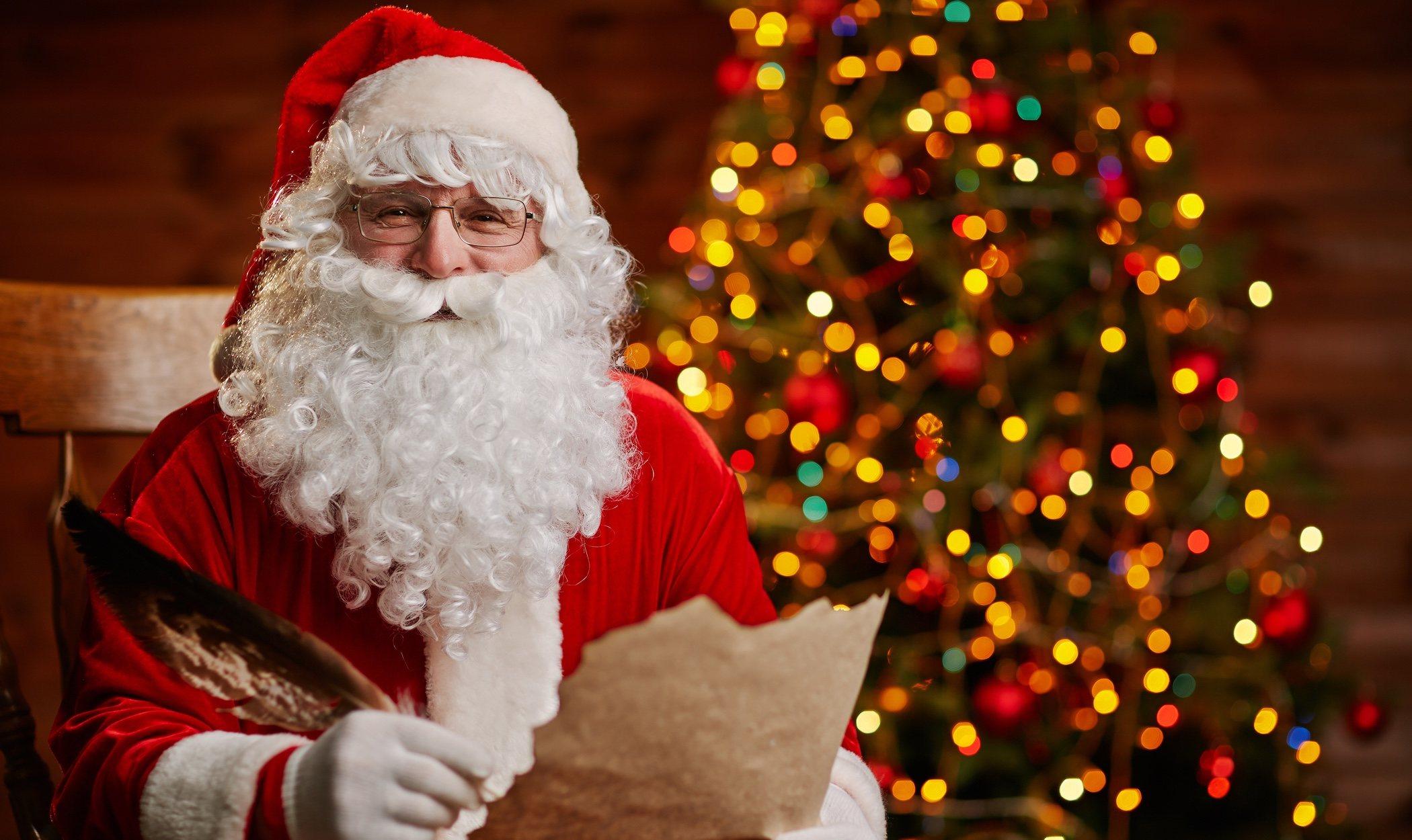 Los nombres de Santa Claus en diferentes partes del mundo