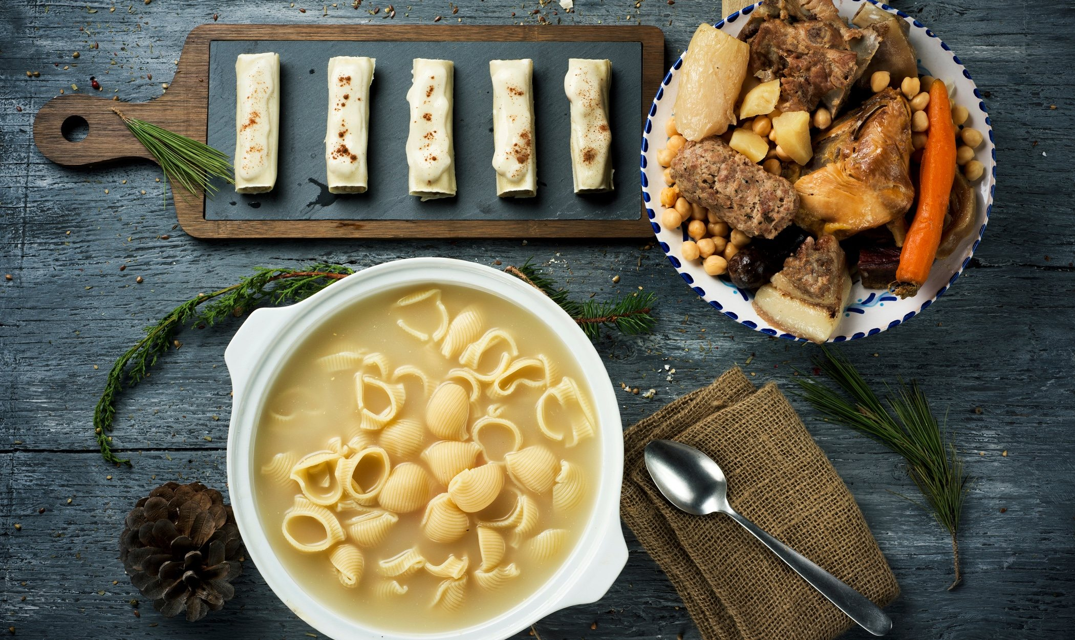 Gastronomía típica del día de San Esteban