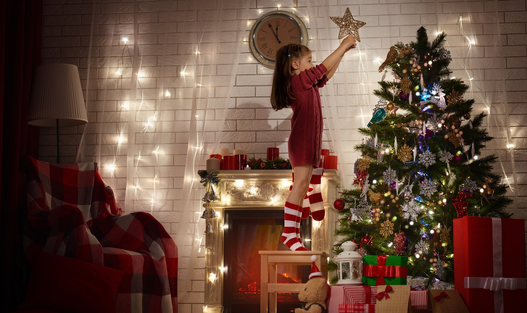 Tendencias para decorar el árbol de Navidad 2018