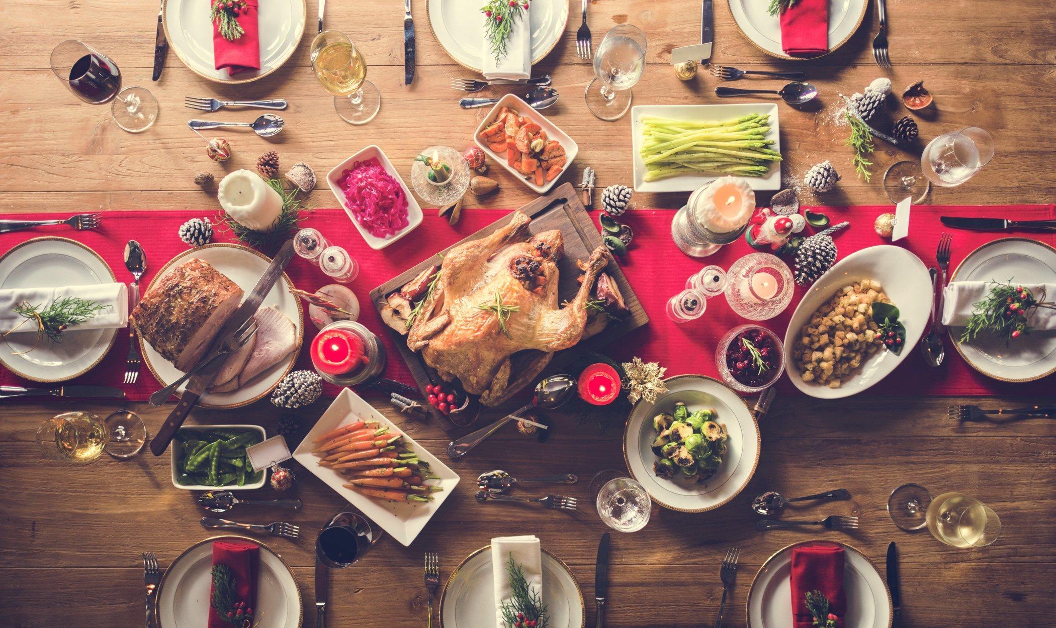 Alimentos que no debes utilizar en tus comidas y cenas navideñas