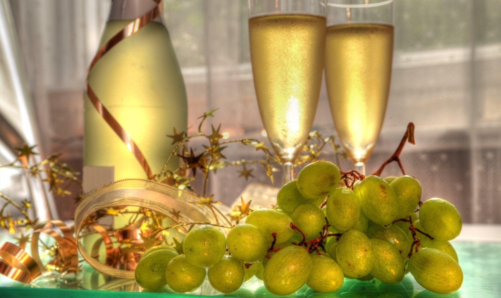 Maneras de preparar las uvas para Nochevieja