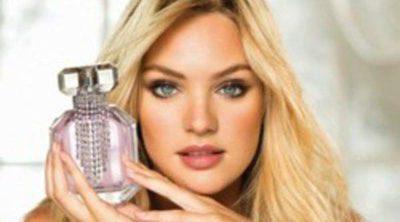 Candice Swanepoel promociona 'Bombshell Diamonds', la fragancia de Victoria's Secret para Navidad 2012