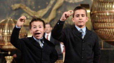 Los niños de San Ildefonso y los bombos de la Lotería, listos para el sorteo de Navidad