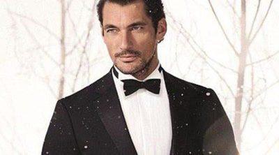 David Gandy se viste de esmoquin para recibir a la Navidad con Marks & Spencer