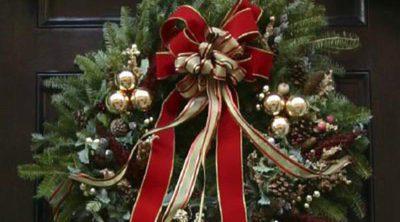 Decoración navideña: ¿qué adorno pongo en la puerta de casa?