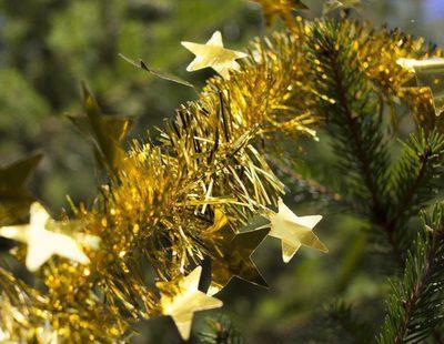 Cómo utilizar el espumillón en la decoración navideña