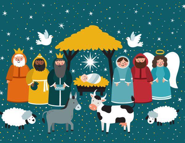 Belenes de navidad modernos innova en tu decoraci n - Adornos navidenos modernos ...