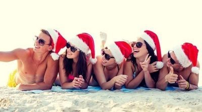 Nochevieja en la playa