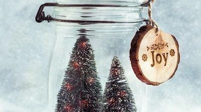 Cómo hacer una bola de nieve para Navidad con tarros de cristal