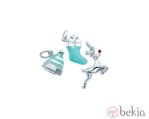 Piezas de la línea Tiffany Charms para Navidad de Tiffany & Co.